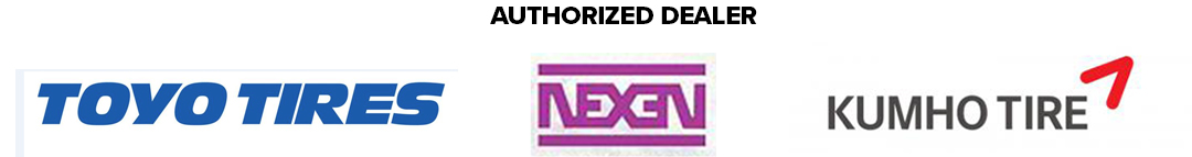 authorized dealer of toyo, nexen, kumho tires